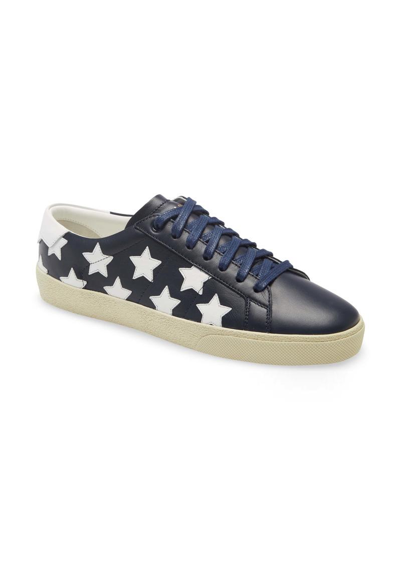 Saint Laurent Court Classic SL/06 Star Low Top Sneaker (Women)