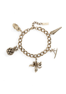 Saint Laurent Hawaii Charm Bracelet