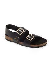 Saint Laurent Jam Slingback Flat Sandal (Women)