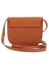 Saint Laurent Kaia YSL Monogram Leather Crossbody Bag