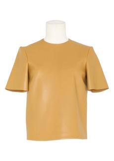 Saint Laurent Leather T-Shirt