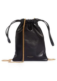 Saint Laurent Mini Drawstring Pouch Shoulder Bag