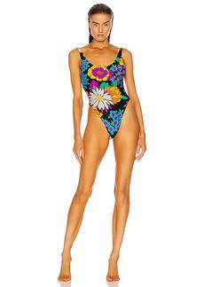 Saint Laurent One Piece Swimsuit