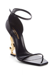 Saint Laurent Opyum YSL Ankle Strap Sandal (Women)