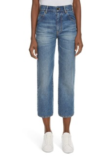 Saint Laurent Original Straight Leg Jeans