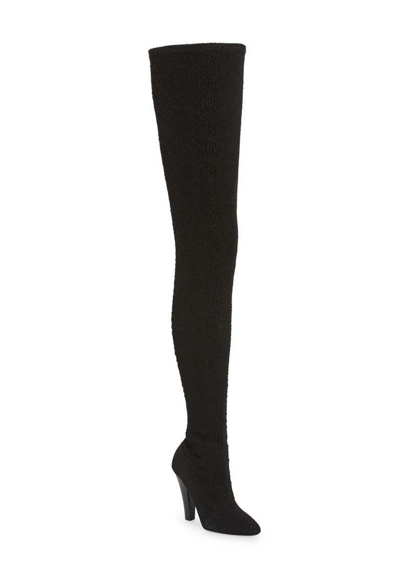 Saint Laurent Over the Knee Stretch Boot (Women)