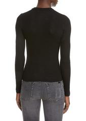 Saint Laurent Ribbed Sweater