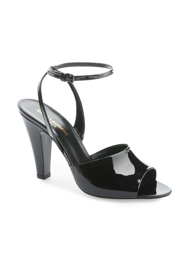 Saint Laurent Scandale Ankle Strap Sandal (Women)