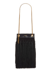 Saint Laurent Small Grace Fringe Macramé Bag