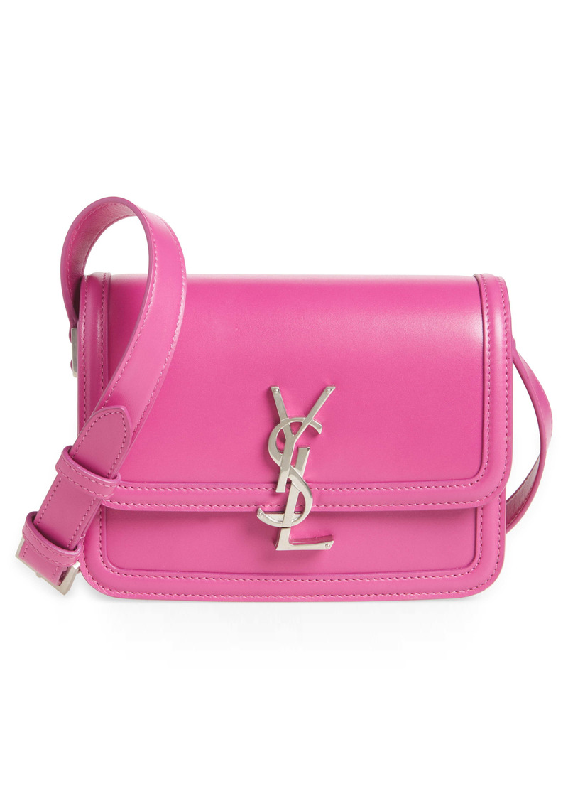 Saint Laurent Solferino Monogram Leather Shoulder Bag