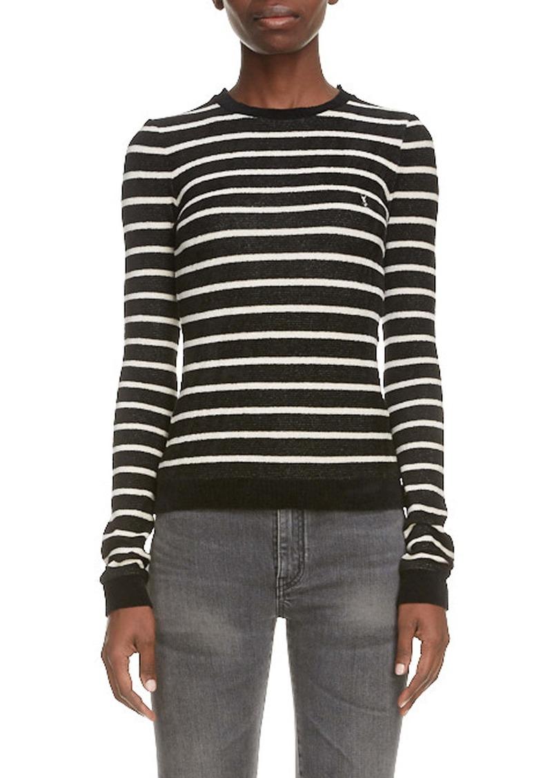 Saint Laurent Stripe Sweater
