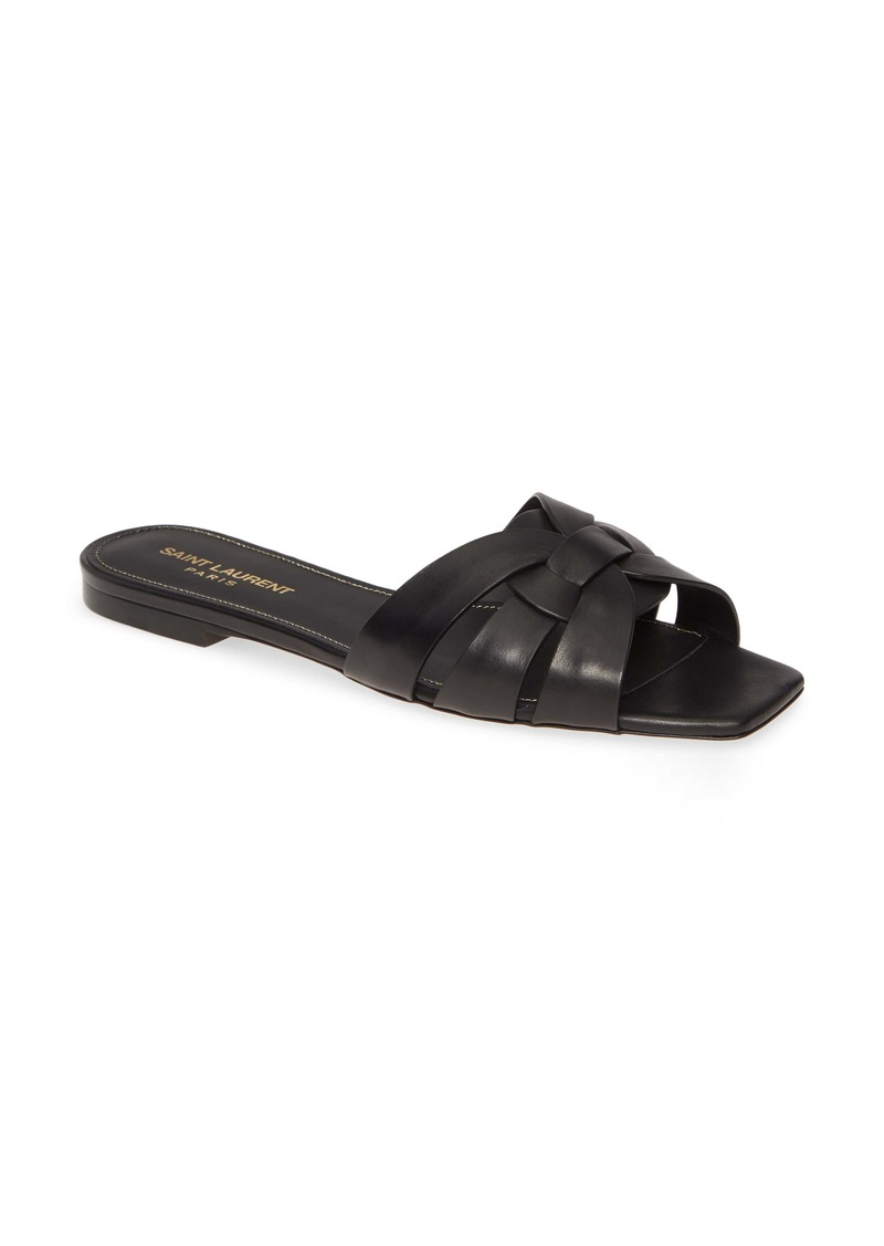Saint Laurent Tribute Nu Pieds Slide Sandal (Women)