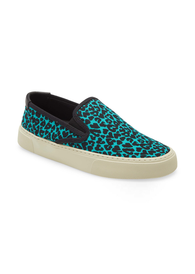 Saint Laurent Venice Slip-On Sneaker (Women)