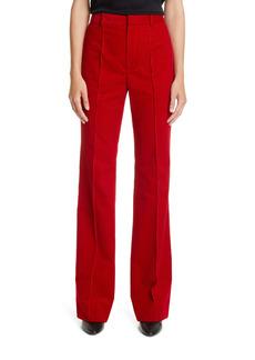 Saint Laurent Wide Leg Corduroy Pants