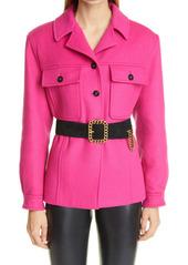 Saint Laurent Wool & Cashmere Jacket