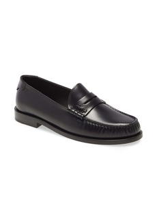 Saint Laurent YSL Monogram Penny Loafer (Women)