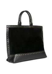 Saint Laurent Studded Leather Shopper
