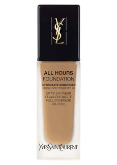 Yves Saint Laurent All Hours Full Coverage Matte Foundation with SPF 20