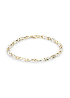 Saks Fifth Avenue 14K Yellow Gold Paperclip Chain Bracelet