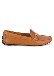 Saks Fifth Avenue Leather & Suede Driving Loafers
