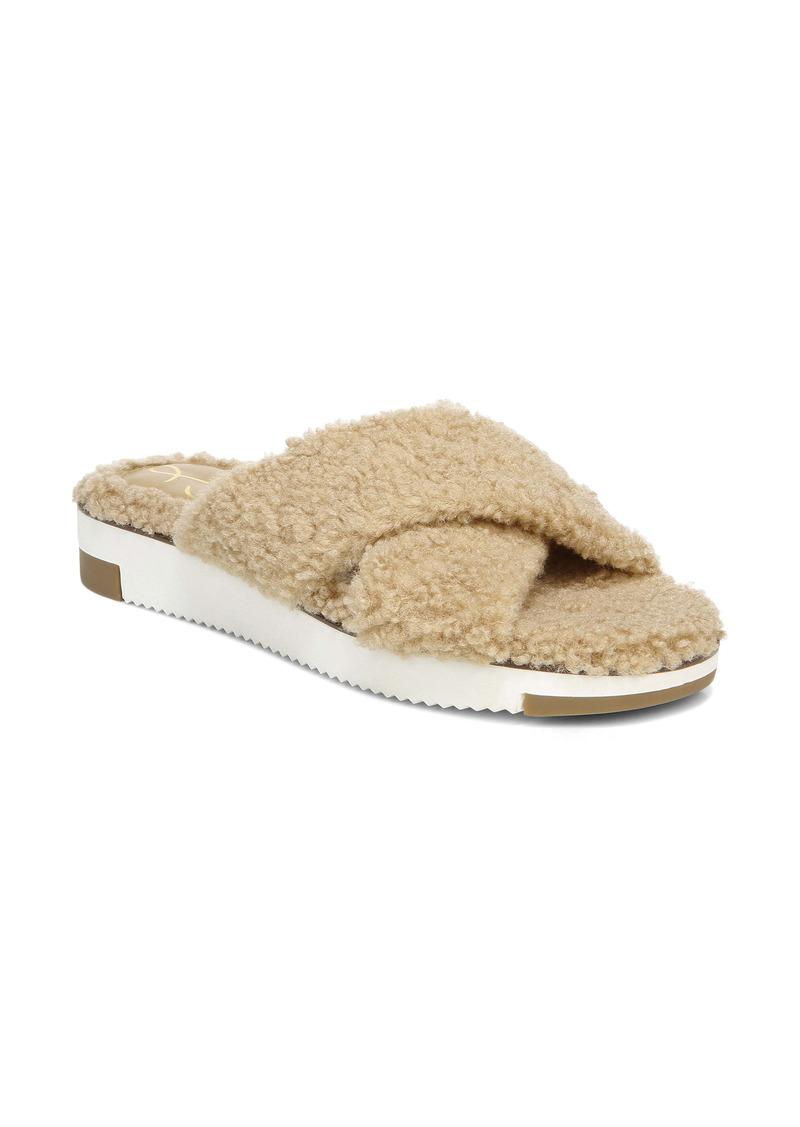 Sam Edelman Alice Faux Fur Sandal (Women)