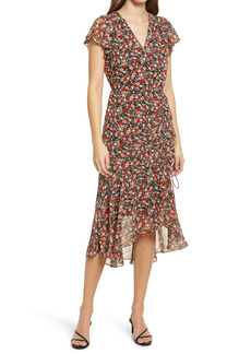 Sam Edelman Ditzy Floral Ruched Dress