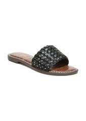 Sam Edelman Geraldine Embellished Slide Sandal (Women)