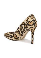 Sam Edelman Hazel Genuine Calf Hair Pointed Toe Pump (Women)