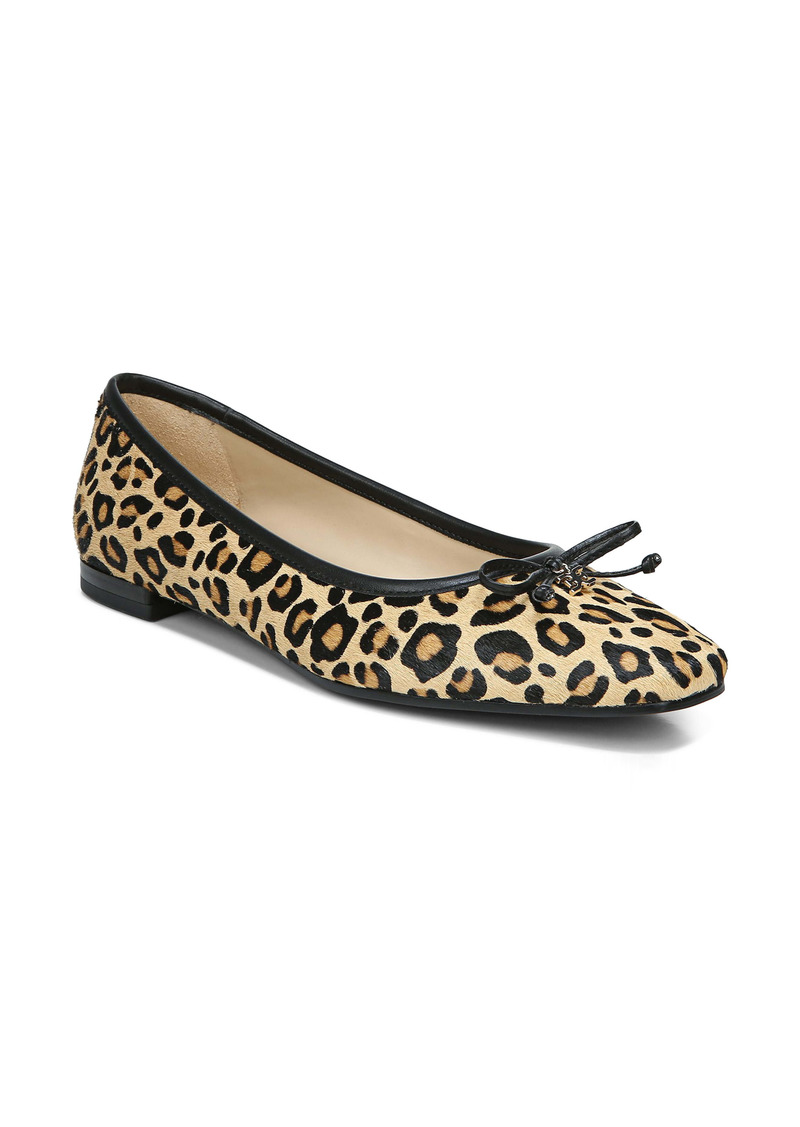 Sam Edelman Jillie Genuine Calf Hair Flat (Women)