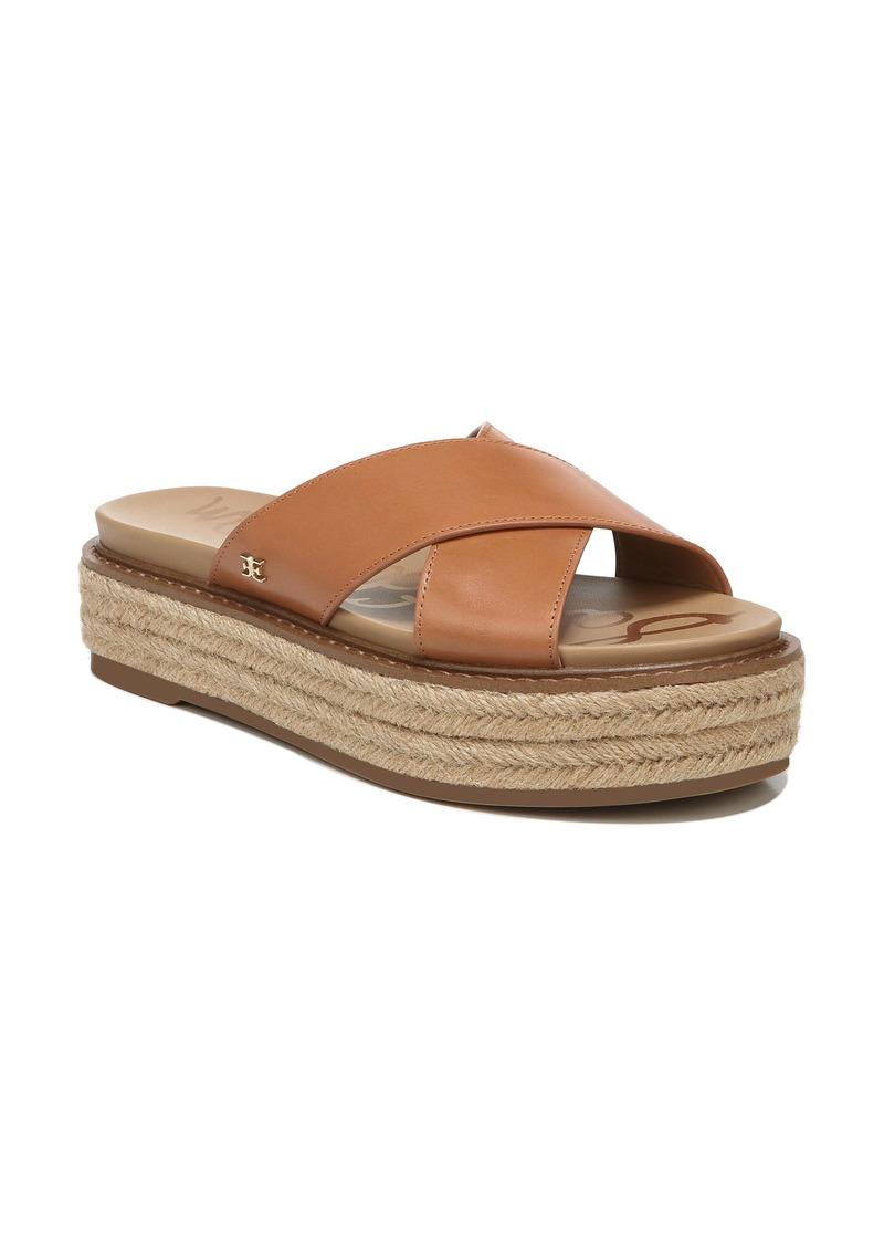 Sam Edelman Korina Platform Slide Sandal (Women)