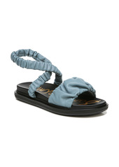 Sam Edelman Velma Ruched Ankle Strap Sandal (Women)