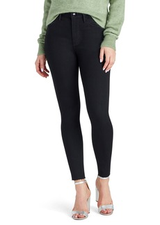 Sam Edelman Stiletto High Waist Fray Hem Ankle Jeans (Mercedes)