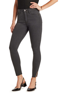 Sam Edelman The Stiletto High Waist Raw Hem Ankle Skinny Jeans (Freedom)