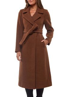 Sanctuary Wool Blend Wrap Coat