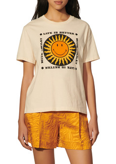 sandro Corneille Smiley Graphic Tee