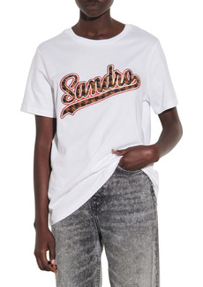 sandro Logo Patch T-Shirt
