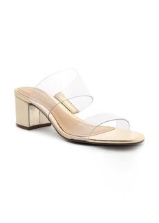 Schutz Victorie Block Heel Slide Sandal (Women)