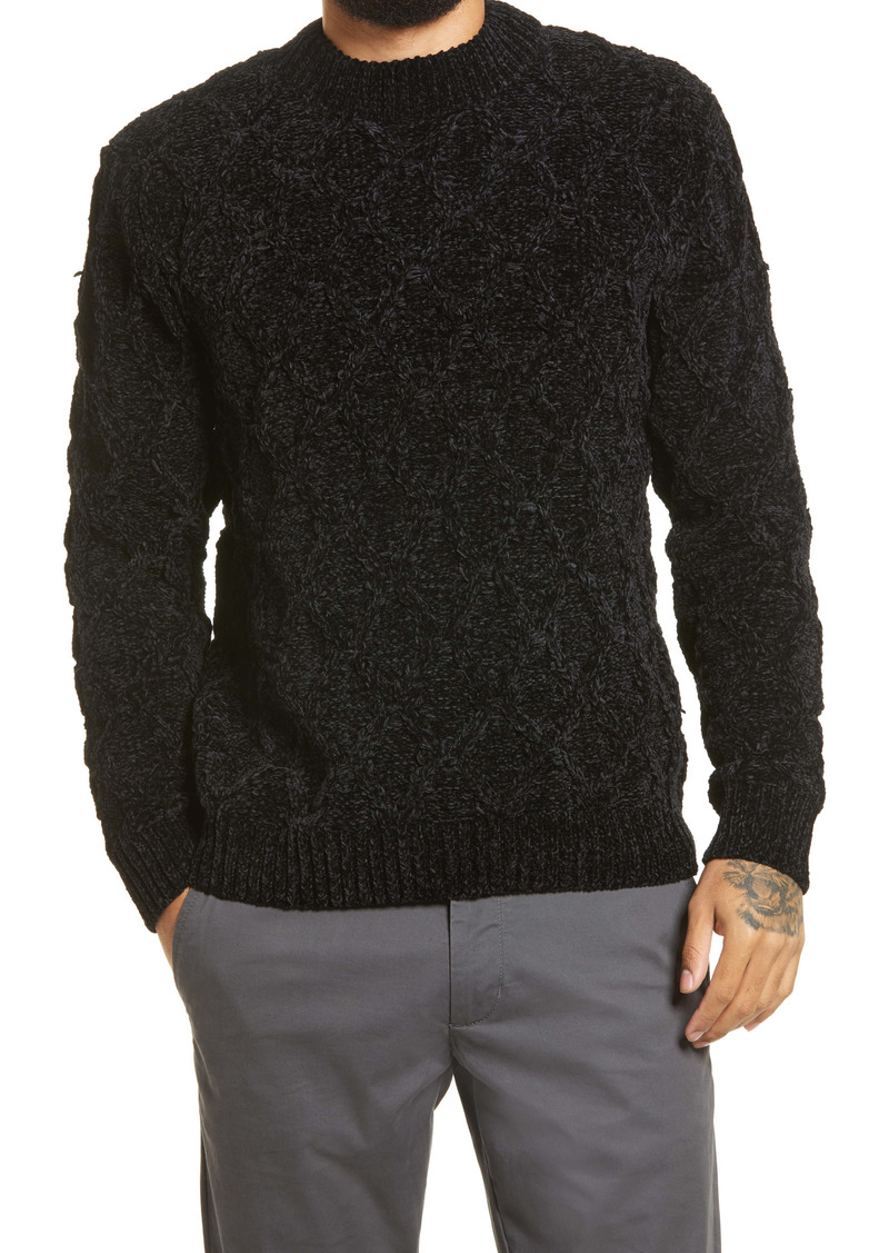 Scotch & Soda Regular Fit Chenille Pullover Sweater