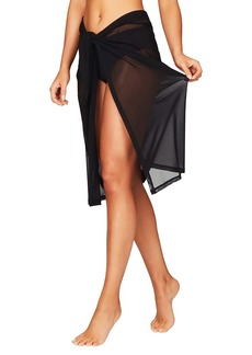 Sea Level Mesh Swim Wrap Cover-Up