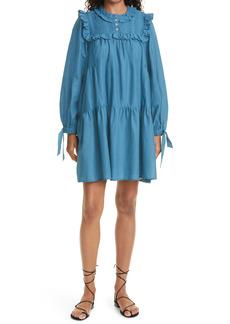 Women's Sea Adrienne Puff Sleeve Tunic Dress