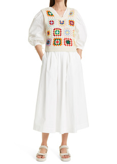 Women's Sea Gabriela Crochet Vest & Dress Set