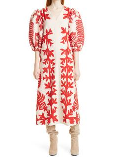 Women's Sea Henrietta Puff Sleeve Dress