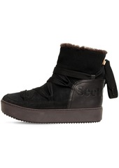 See by Chloé 30mm Suede Snow Boots