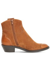 See by Chloé 40mm Suede & Leather Cowboy Boots