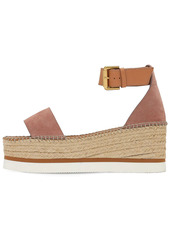See by Chloé 80mm Glyn Suede Wedges