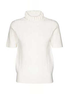 See by Chloé Cable-knit turtleneck top