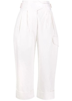 See by Chloé City straight-leg cargo trousers