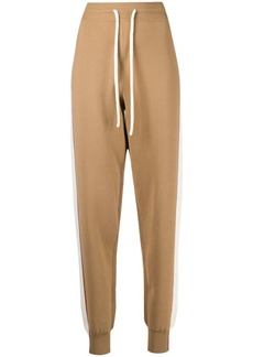 See by Chloé double-face knit track trousers
