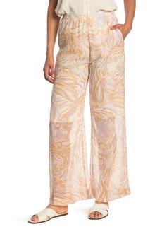 See by Chloé Printed Silk Pants