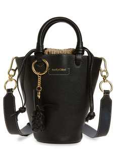 See by Chloé Cecilia Small Leather Bucket Bag